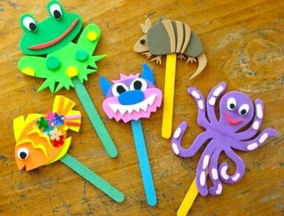 DIY Popsicle Stick Craft Ideas for Kids Popsicle Puppets
