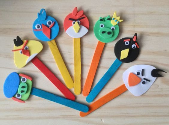 Popsicle Angry Birds