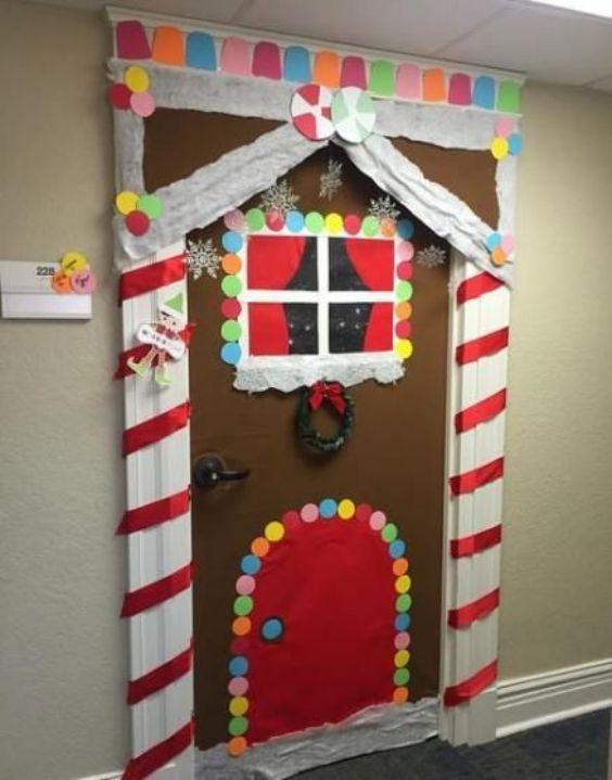 Santa Claus Vibe Decoration on Door