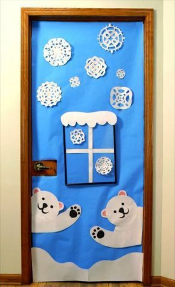 Some Ice Area Themed Decorations