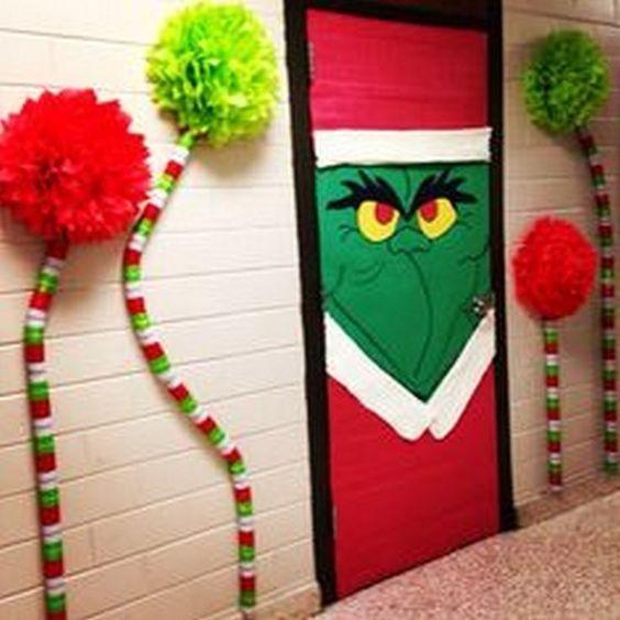 Christmas Classroom Door Decoration Ideas Fun Decoration For Doors During Christmas