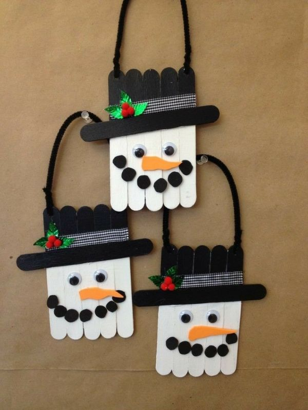 Crafty Christmas : Christmas DIY Crafts For Kids Snowless Snowman