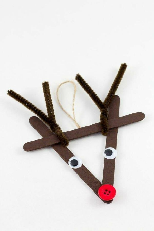 Crafty Christmas : Christmas DIY Crafts For Kids Rudolf Rudolf!