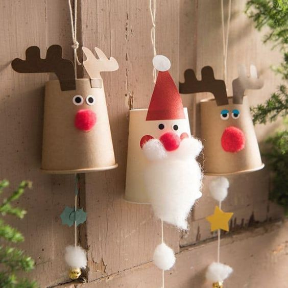 Easy Christmas Crafts for Kids Hangings