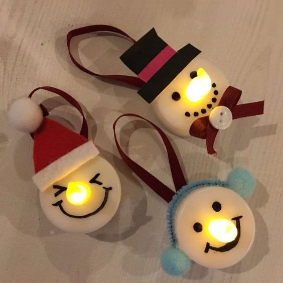 Easy Christmas Crafts for Kids Glowing Nose