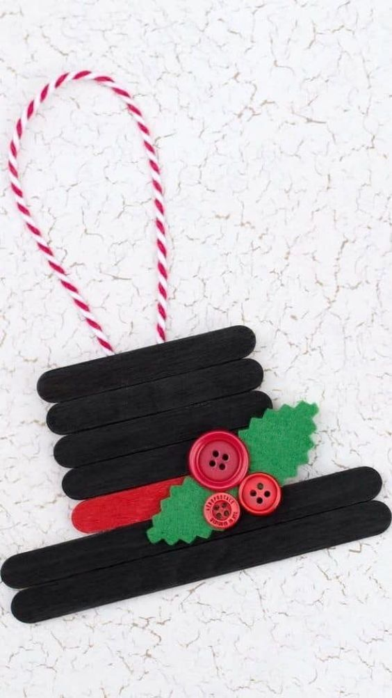Easy Christmas Crafts for Kids Hats