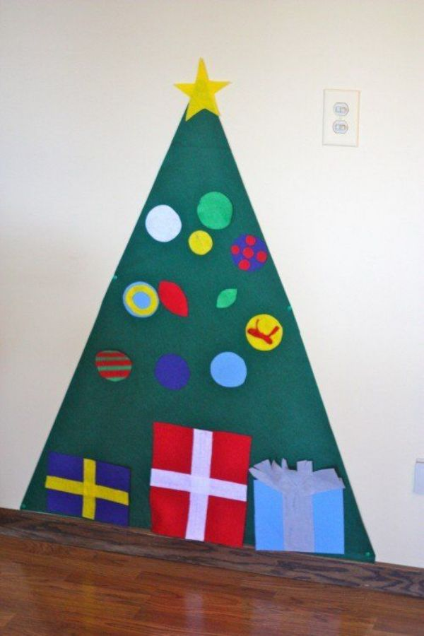 Stick-on Christmas Tree