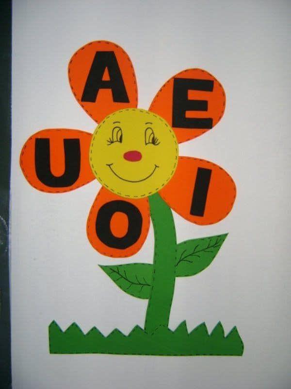 Classroom Decor Paper Craft Ideas for Kids Voewl Flower