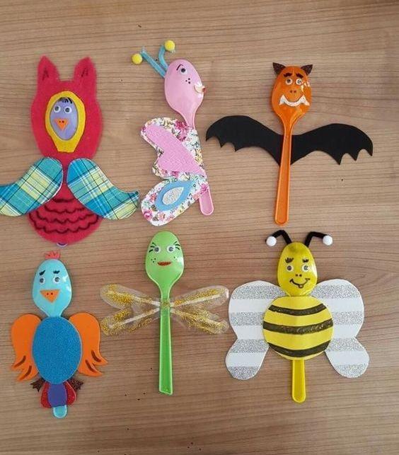 Creative and Amazing Plastic Spoon Craft Ideas