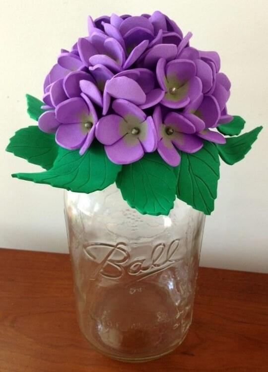 DIY Foam Sheet Flowers Craft Ideas DIY Bouquet