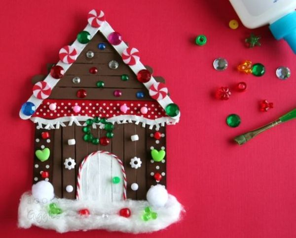 DIY Craft House - Popsicle Stick Christmas Crafts