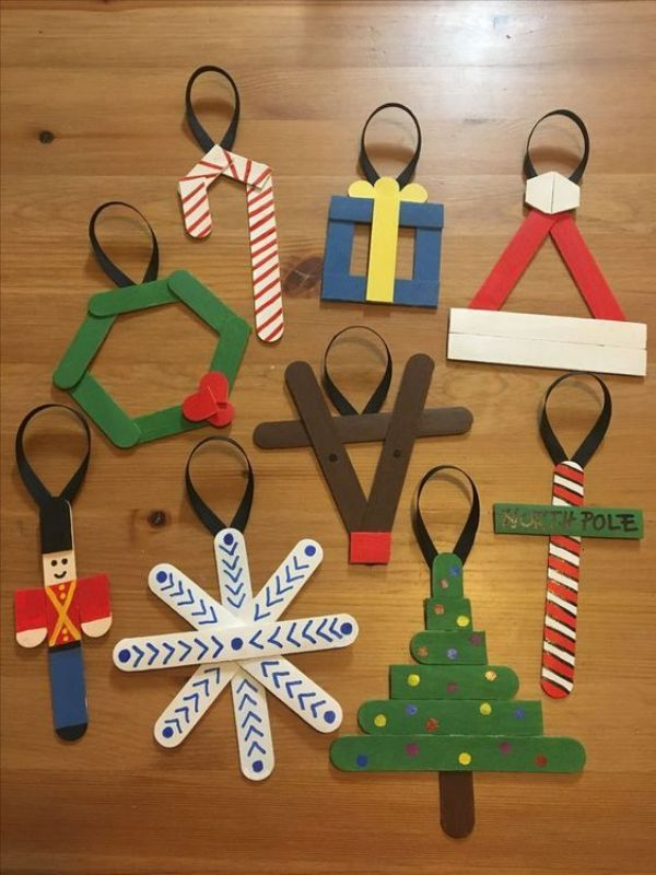Popsicle Gift Craft - Popsicle Stick Christmas Crafts