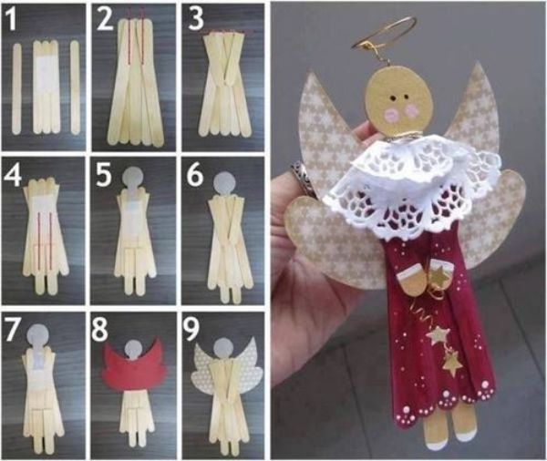 The Holy Angel Craft The Popsicle Tree