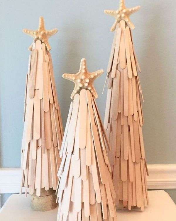 The Popsicle Tree - Popsicle Stick Christmas Crafts