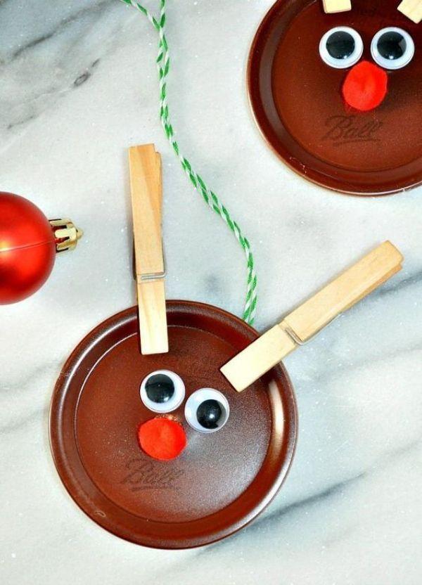 DIY Reindeer Crafts for Kids Popsicle Stick And Paper Plate For Making Reindeer