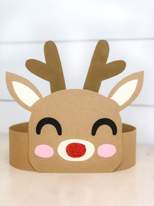 DIY Reindeer Crafts for Kids A Baby Reindeer With Cardboard