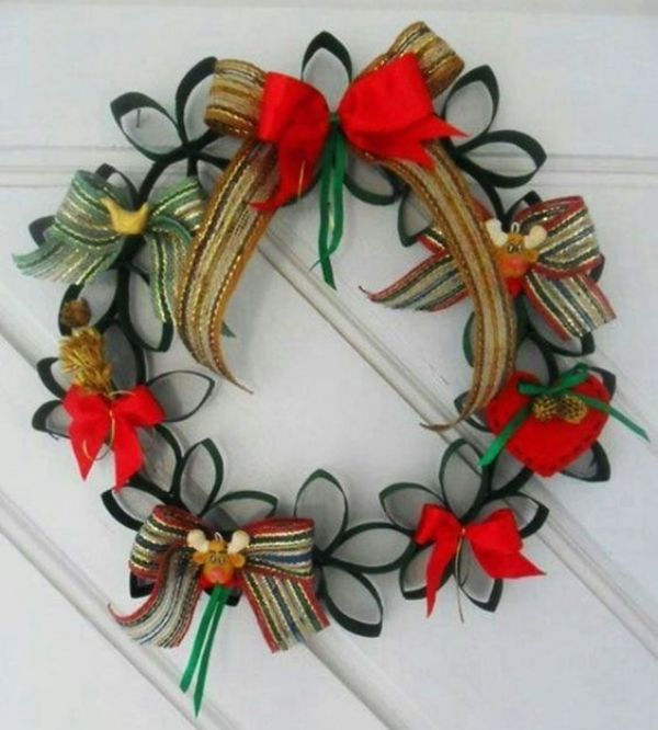 DIY Christmas Wreath Ideas for Kids Mix And Match