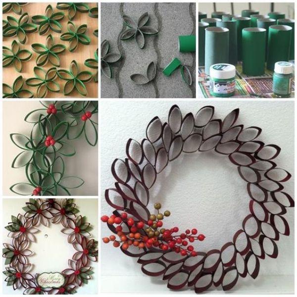 DIY Christmas Wreath Ideas for Kids Miscalleneous