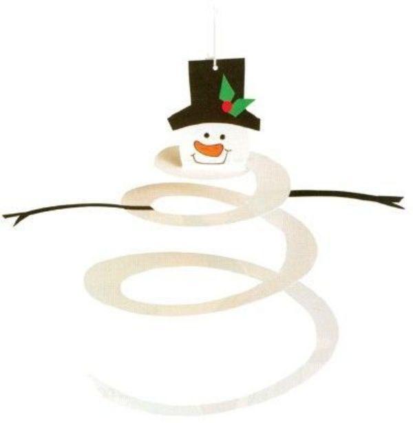 Spiral Snowman