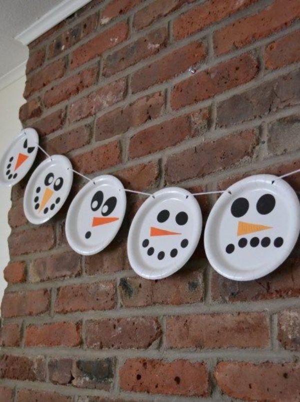 Snowman Plate Chain