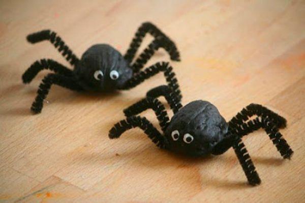 DIY SPIDER CRAFT Clay Spider