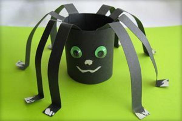 DIY SPIDER CRAFT Paperfolding Spider