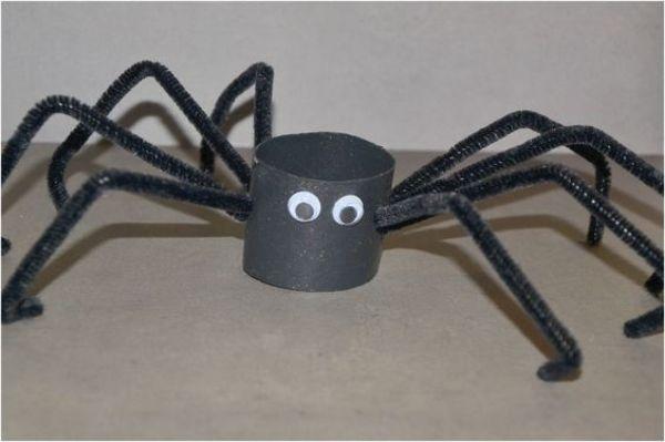 DIY SPIDER CRAFT Scary Spider
