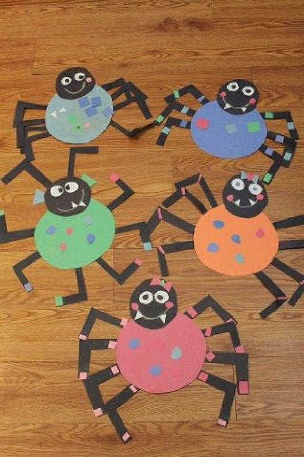 DIY SPIDER CRAFT