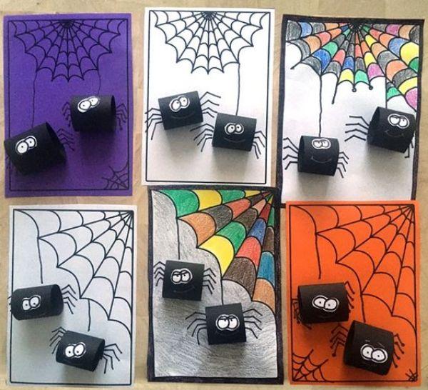 Paperroll Spider