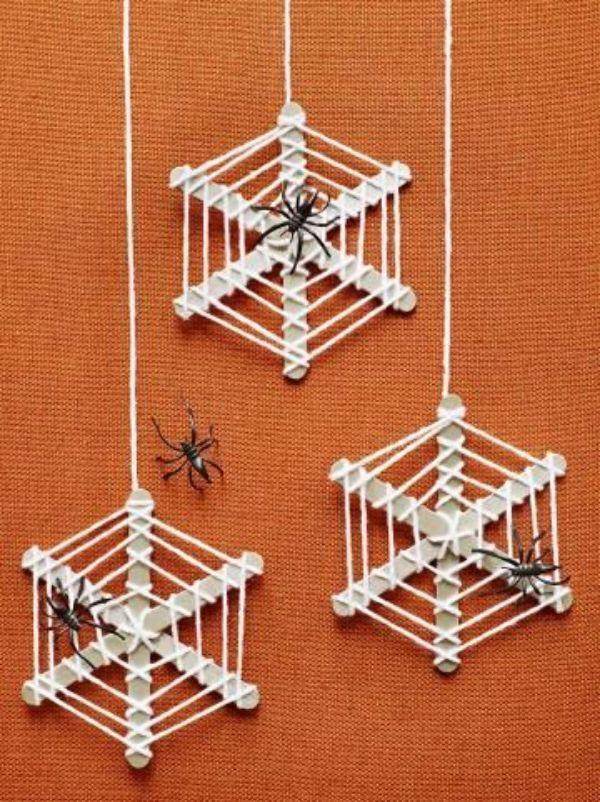 DIY SPIDER CRAFT Spidernets