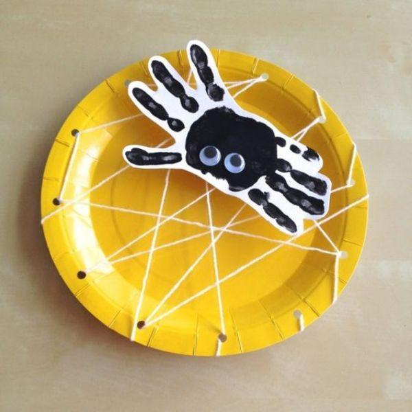 DIY SPIDER CRAFT Handweave Spider