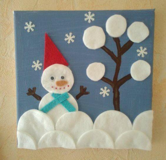 Winter Snow Portrait