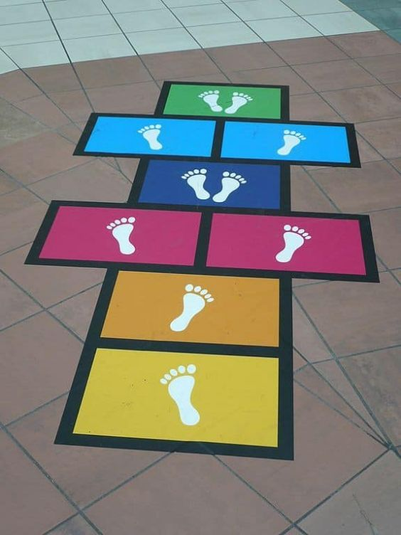 Activities for Kids Hopscotch