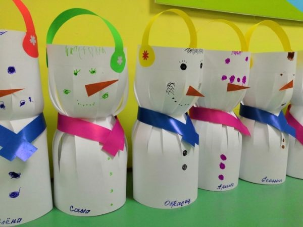 Easy And Innovative Paper Snowman Crafts for Kids The Bucket Snowman