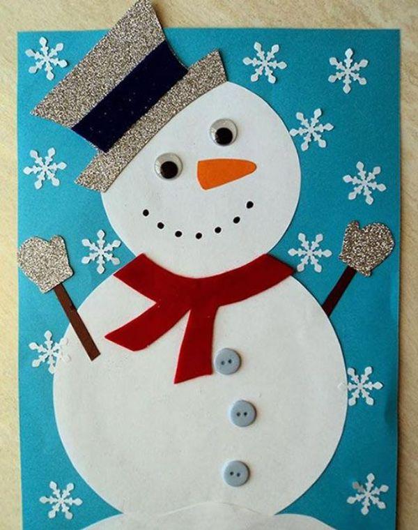 The Glittery Snowman