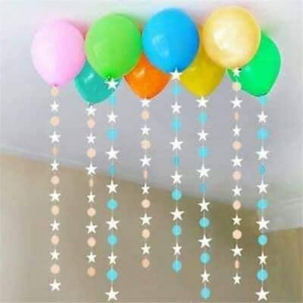 Simple Party Décor With Balloons