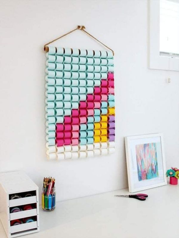DIY Coloured Hanging