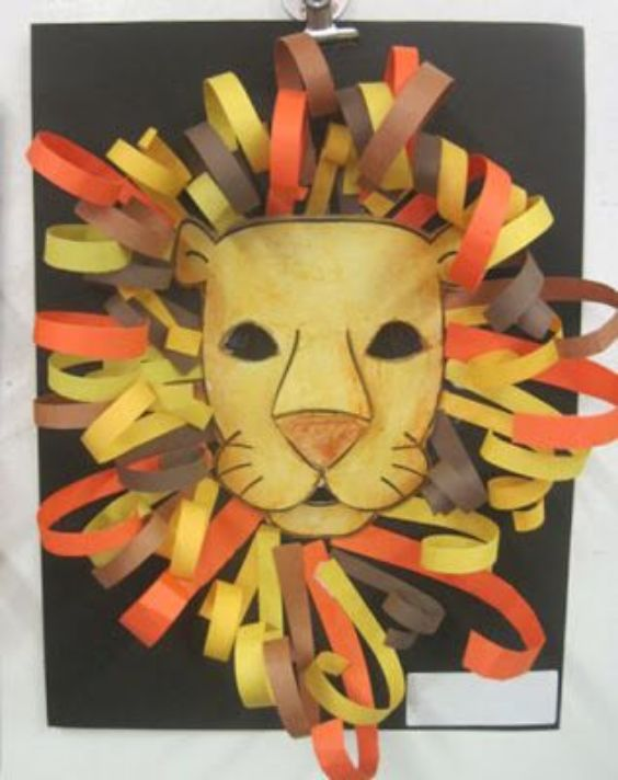 Lion Craft Ideas For Kids Paper Lion