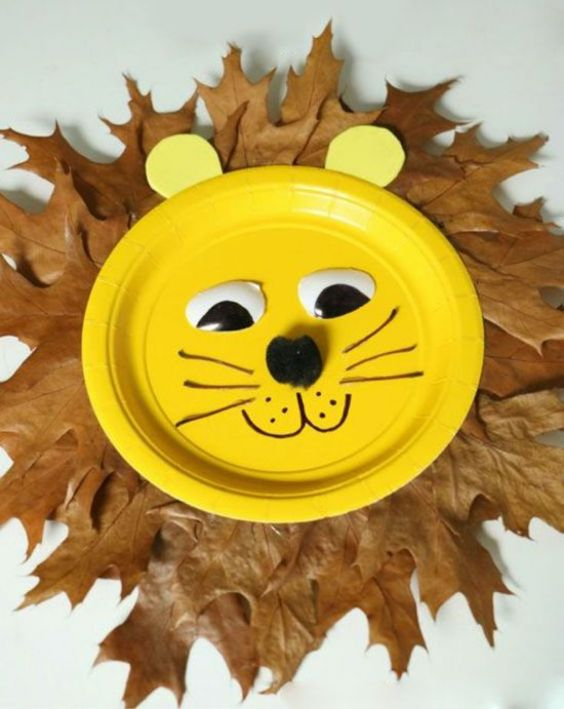 Lion Craft Ideas For Kids Paper Plate Lion