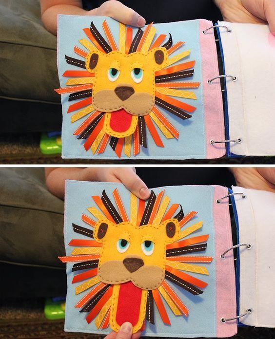 Ribbon Lion