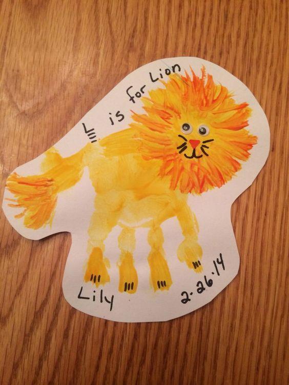 Paint the lion