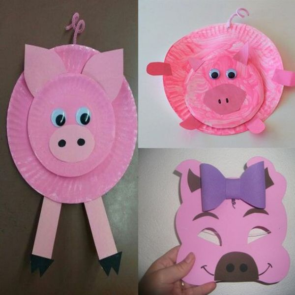 Pig Plate And Mask