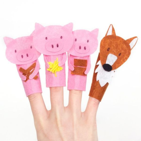 Little Pigs Finger Puppet Little Pigs Finger Puppet