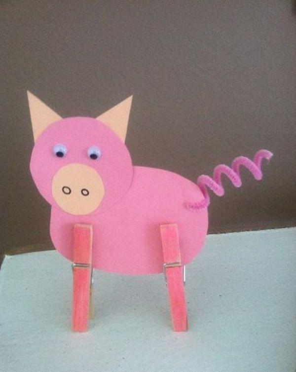 Animal Fun-Pig Crafts for Kids
