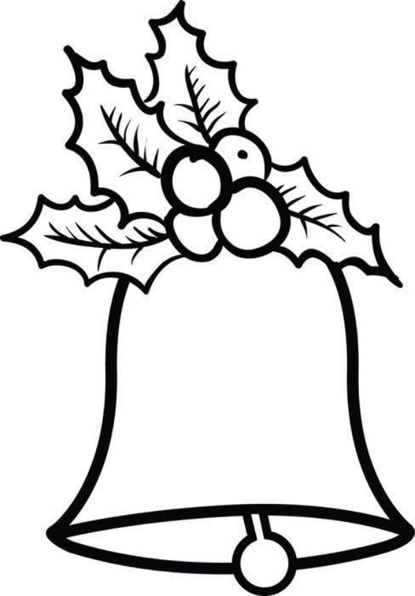Printable Christmas Coloring Pages For Preschoolers