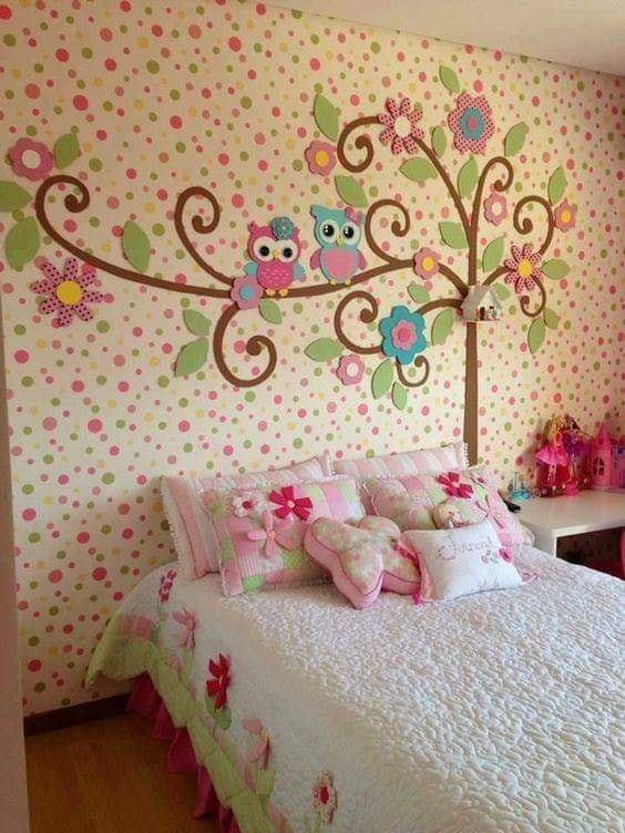 Owl Tree Room Decor