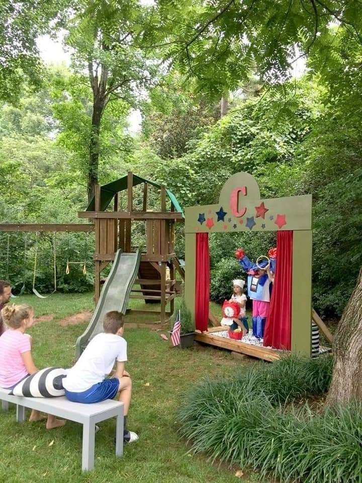 Outdoor Activities For Healthy Mental And Physical Development Of Kids Mini Theatre