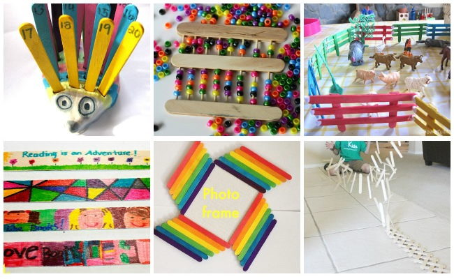 Popsicle Stick Ideas for Kids
