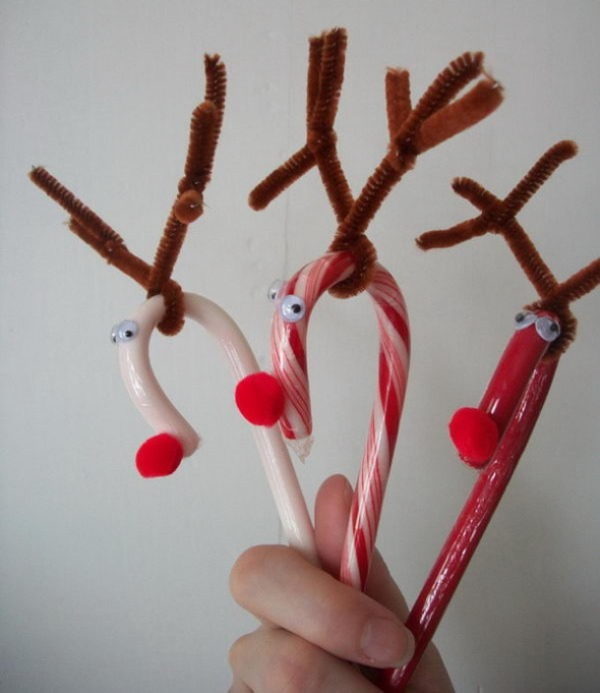 Pipe Cleaner Animal Crafts For Kids Using Pipe Cleaner in Christmas