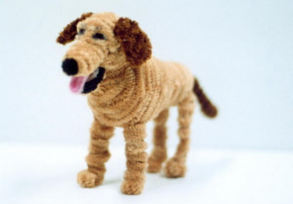 Pipe Cleaner Dog Craft